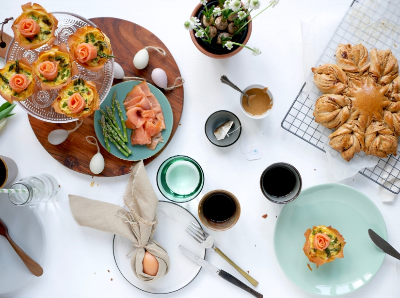 Paas brunchtafel || cookedbyrenske
