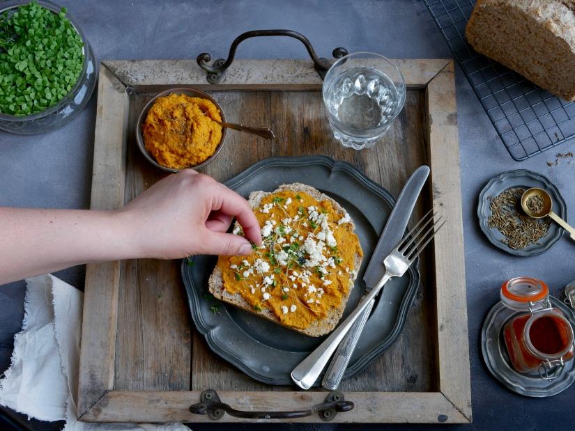 Koningsdag || Geroosterde wortel humus || cookedbyrenske